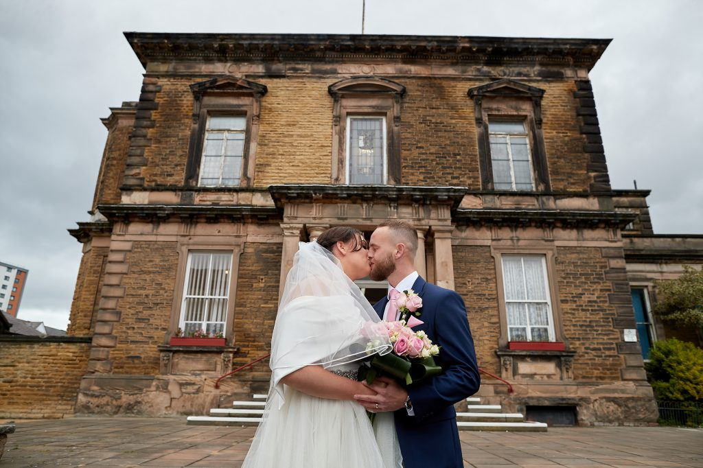 The wedding of Danny Davies and Jesica Dobson